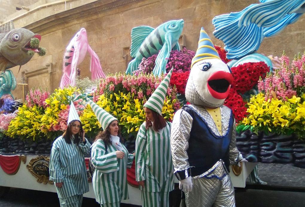"""Nuestro Mercado de Flores en """"La primavera empieza en Murcia"""""""